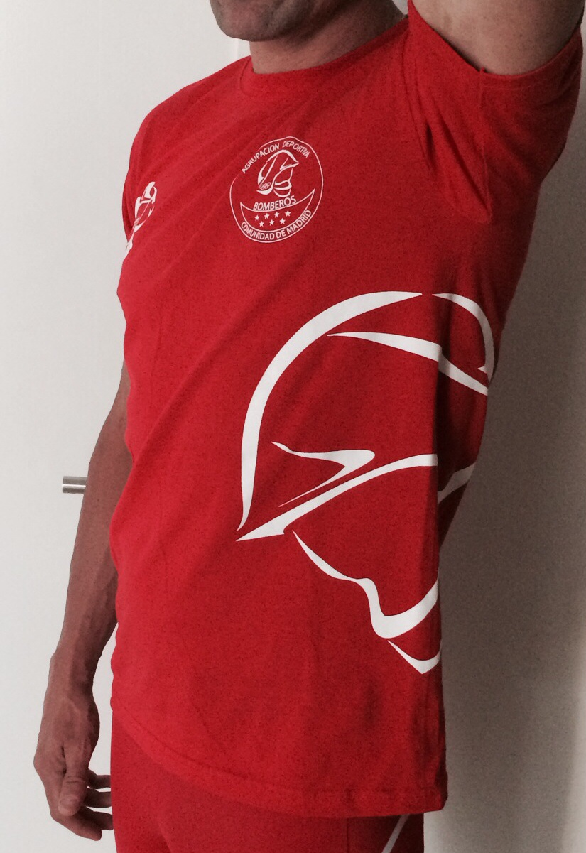 Madrid Camiseta Deportiva Algodon De Agrupacion Bomberos Comunidad qzMVpUS